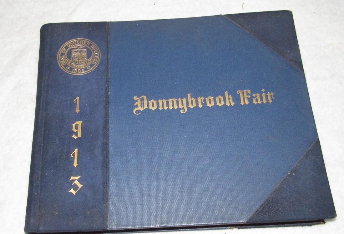 1913 Donnybrook Fair Goucher College Book