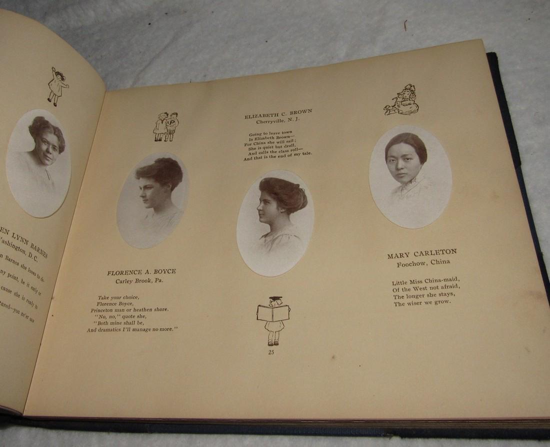 1913 Donnybrook Fair Goucher College Book - 4