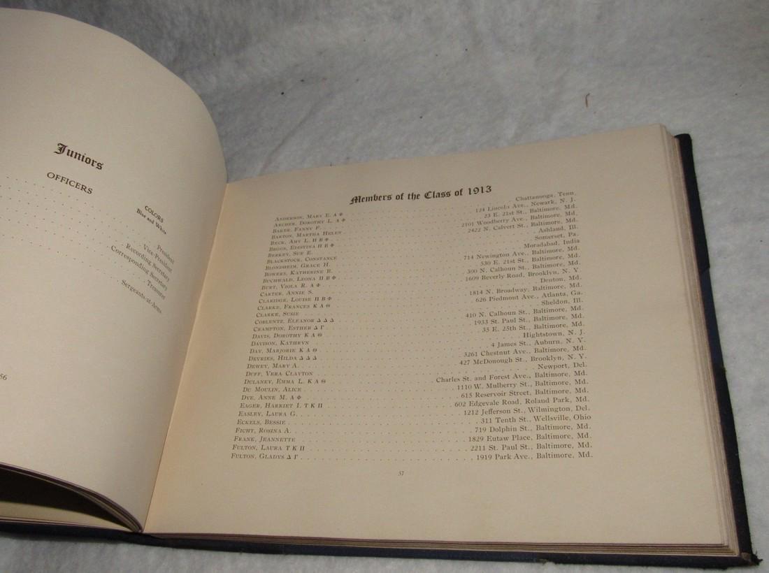 1913 Donnybrook Fair Goucher College Book - 8
