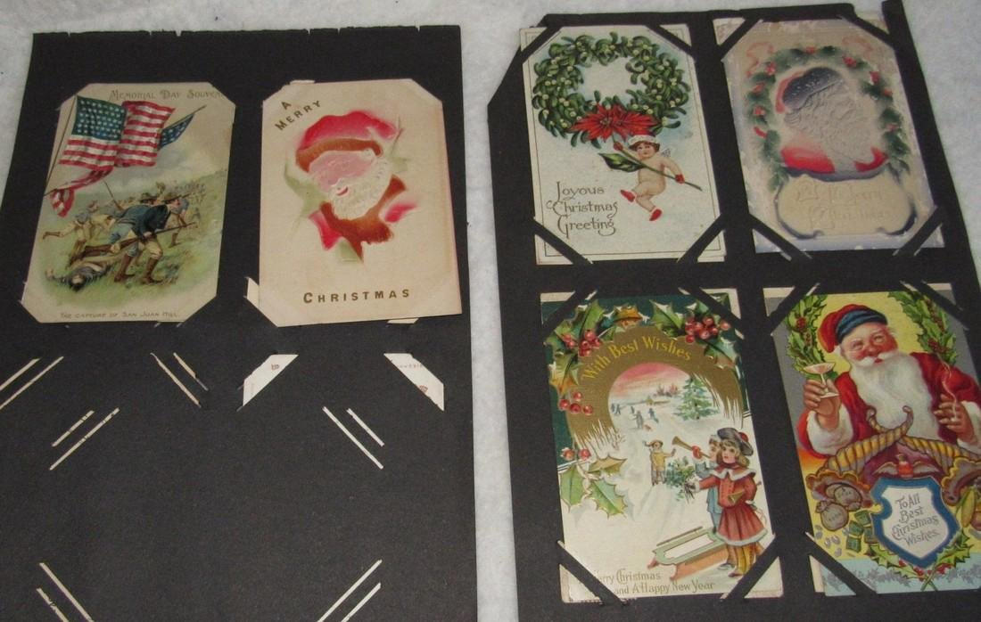 75 Christmas Easter Holiday Antique Post Cards