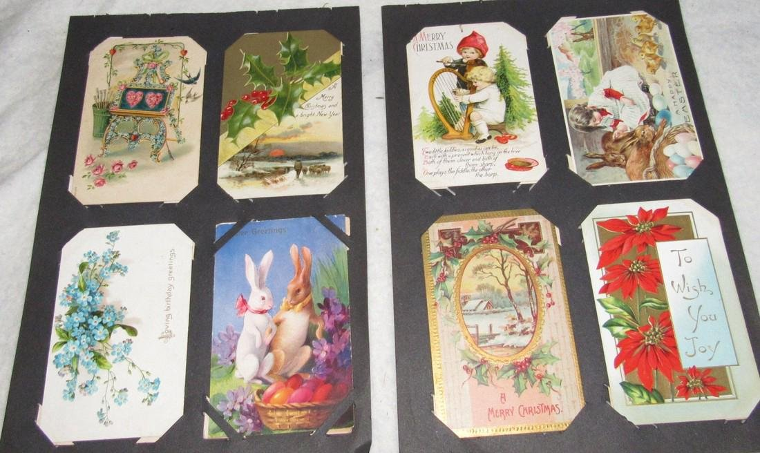 75 Christmas Easter Holiday Antique Post Cards - 6