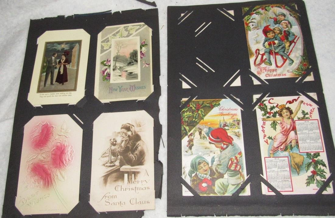 75 Christmas Easter Holiday Antique Post Cards - 8