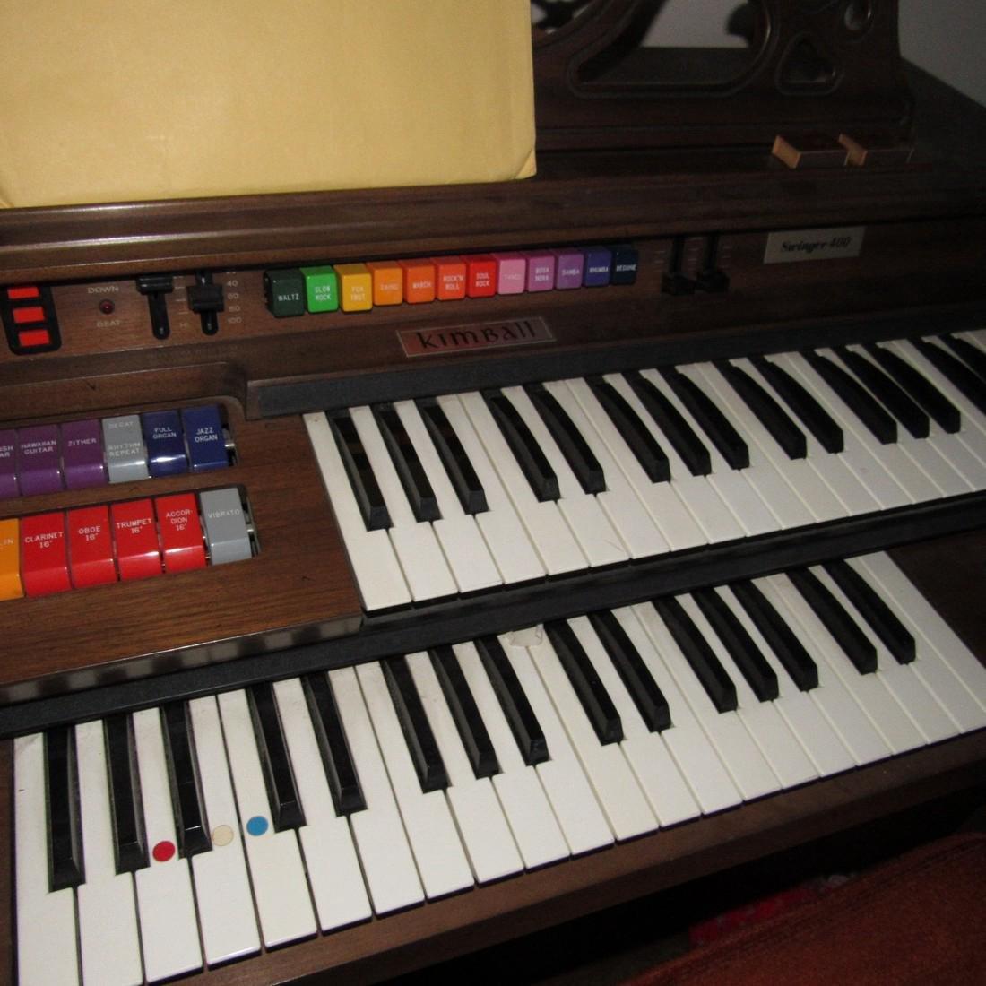 Kimball Entertainer III Organ - 2