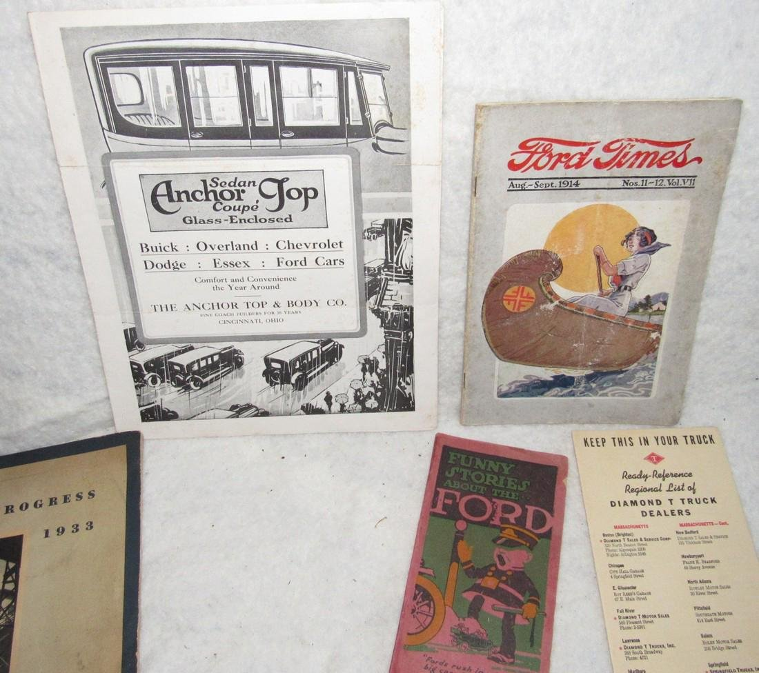 Ford Brochures Catalogs Book Literature Lot - 3