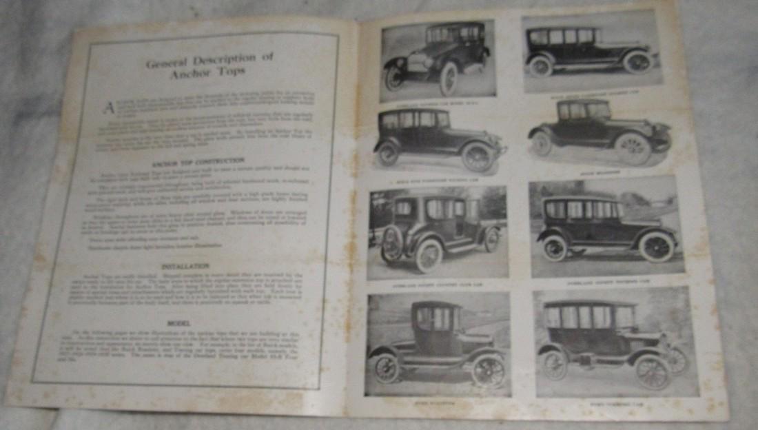 Ford Brochures Catalogs Book Literature Lot - 5