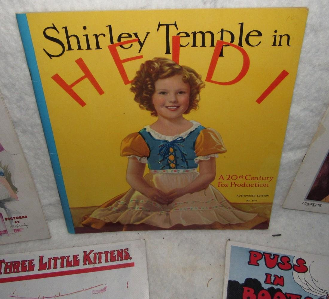 Shirley Temple & Linette Book Lot - 3