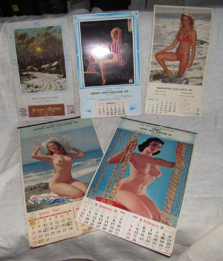 Local Garage Store Mens Adult Calendars