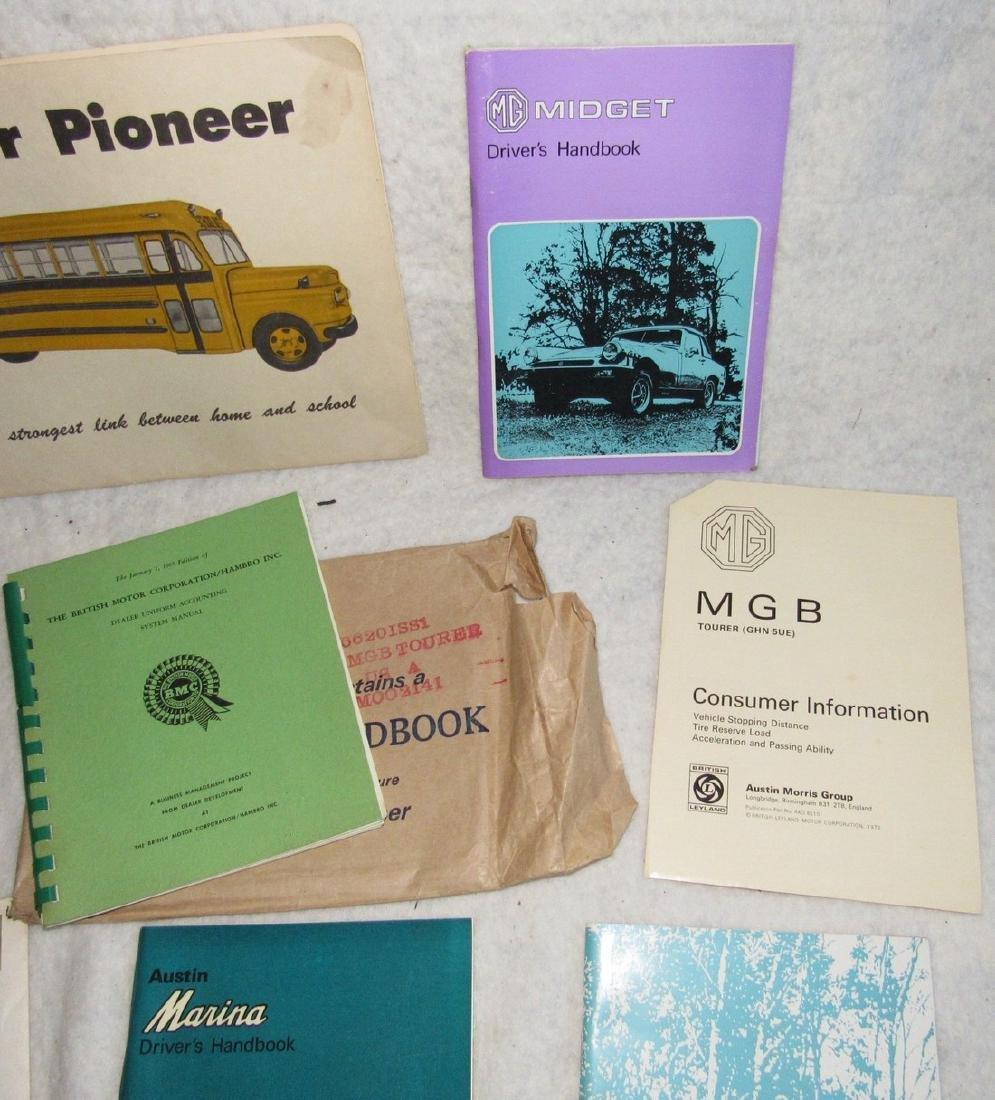 MG MGB Midget Plymouth British Motor Books - 3