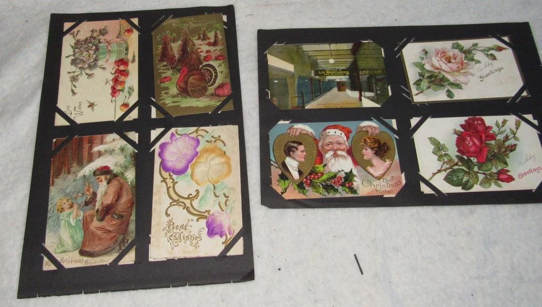 61 Christmas Halloween Holiday Postcards - 2