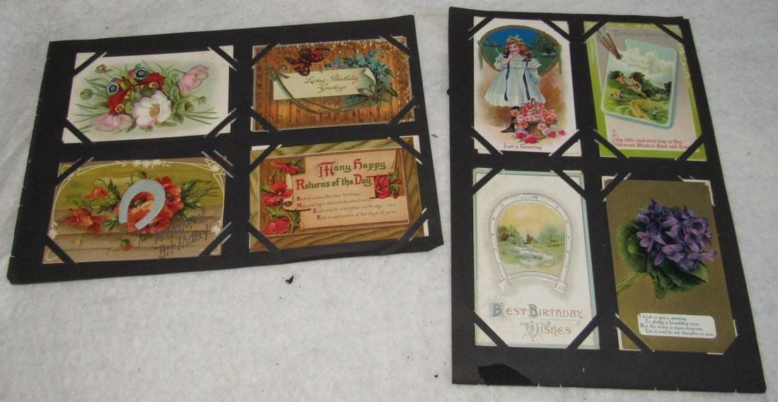 61 Christmas Halloween Holiday Postcards - 3