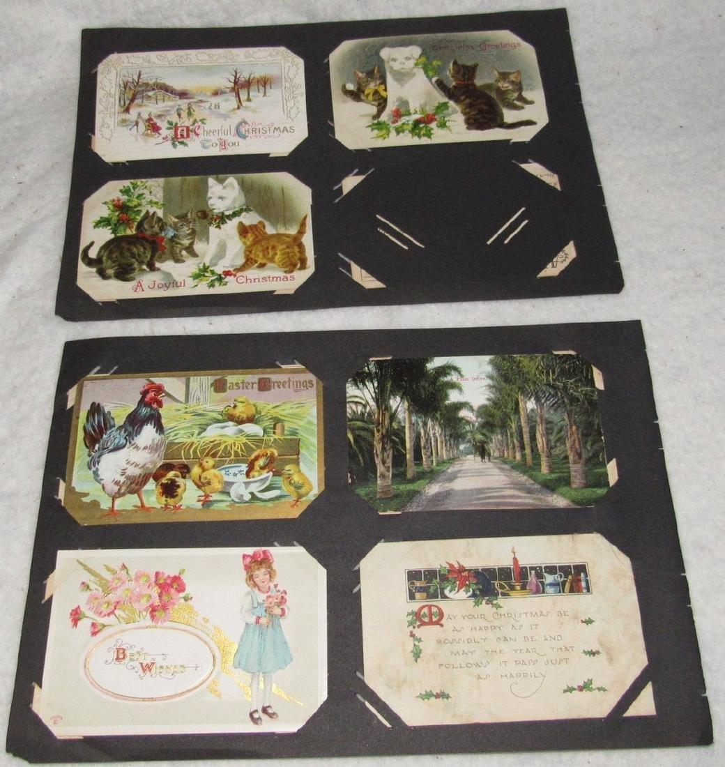 61 Christmas Halloween Holiday Postcards - 4