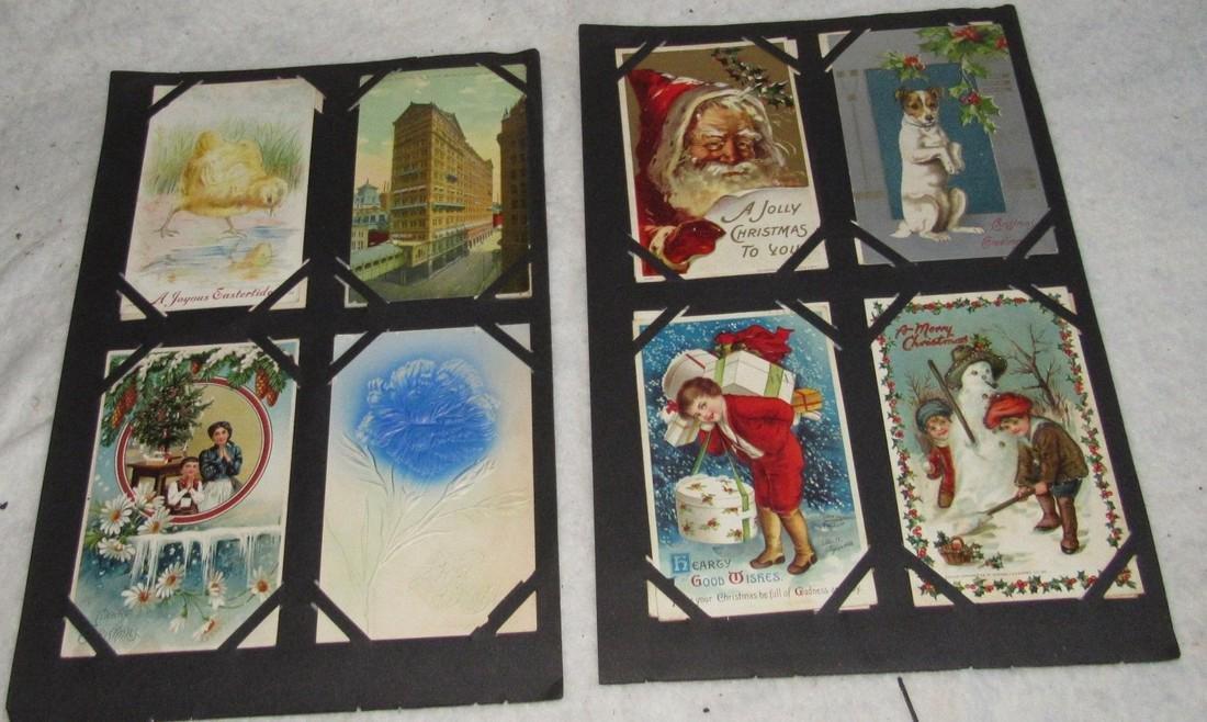 61 Christmas Halloween Holiday Postcards - 6