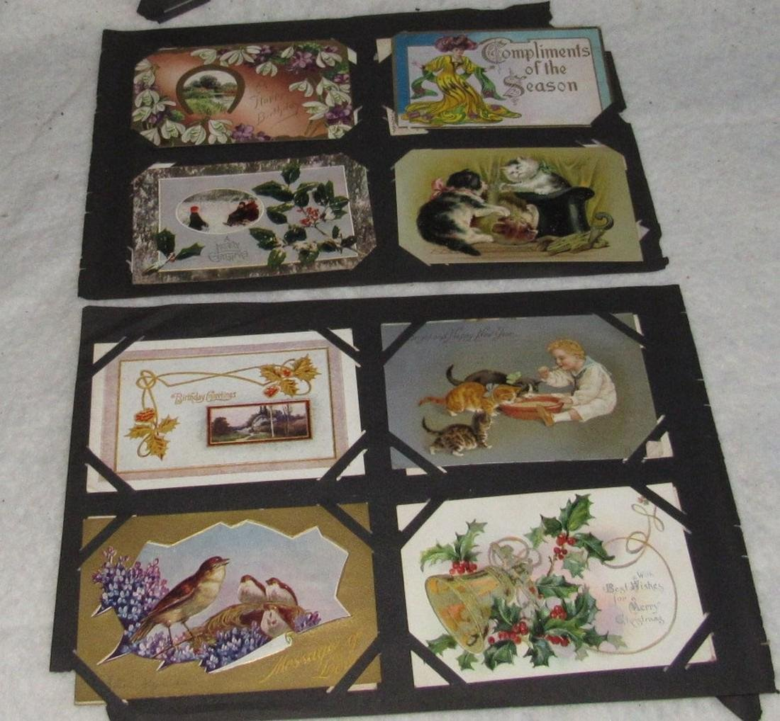 79 Antique Holiday Christmas Post Cards Easter - 10