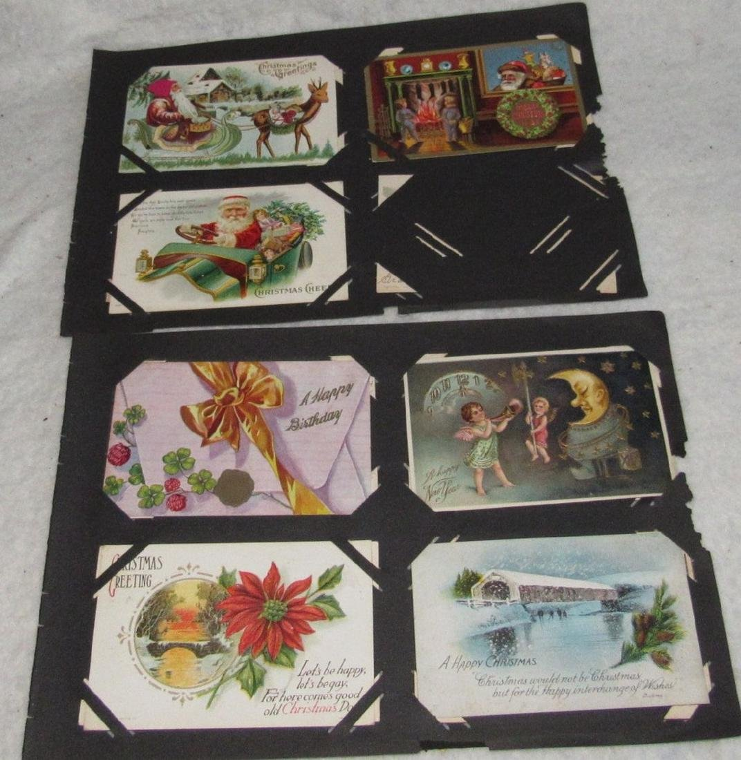 79 Antique Holiday Christmas Post Cards Easter - 2