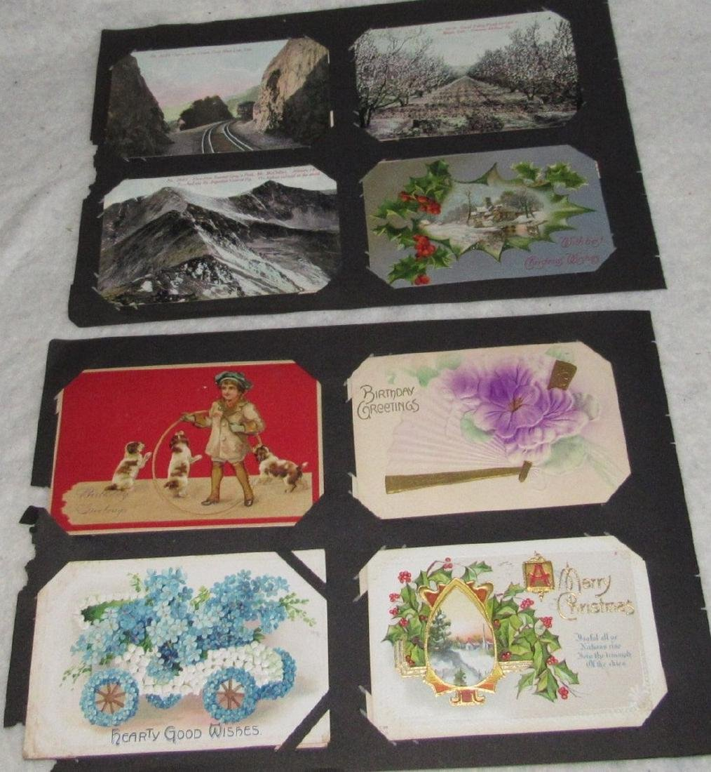 79 Antique Holiday Christmas Post Cards Easter - 3