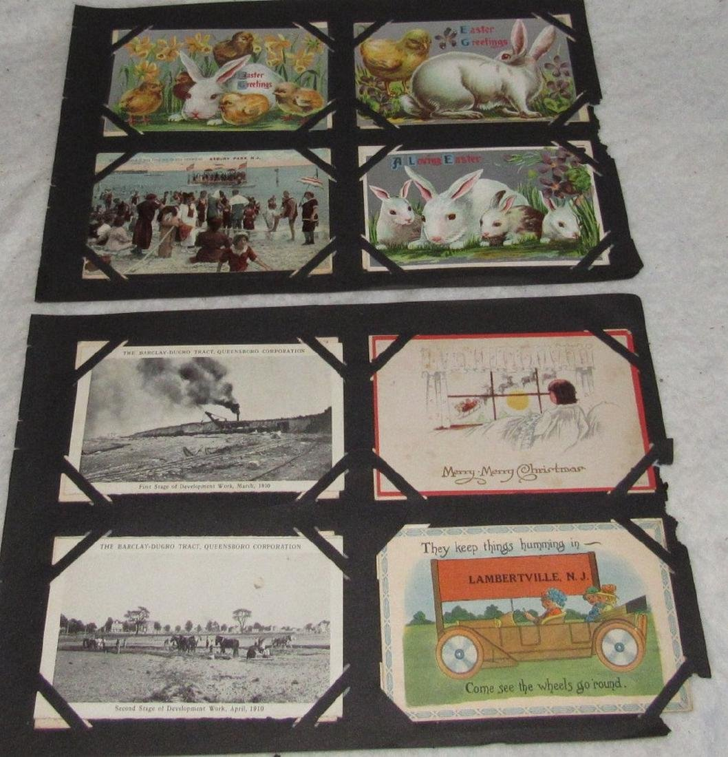 79 Antique Holiday Christmas Post Cards Easter - 4