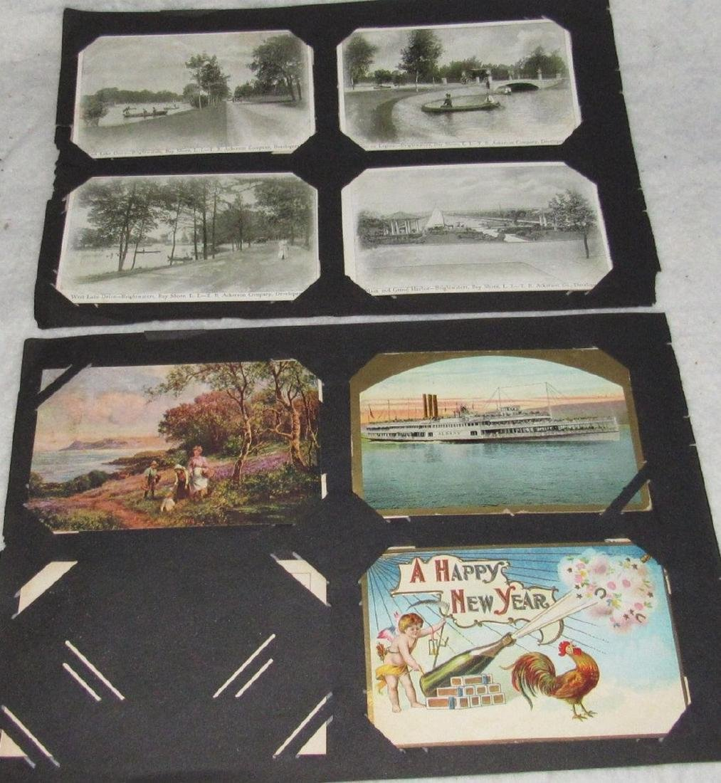 79 Antique Holiday Christmas Post Cards Easter - 5
