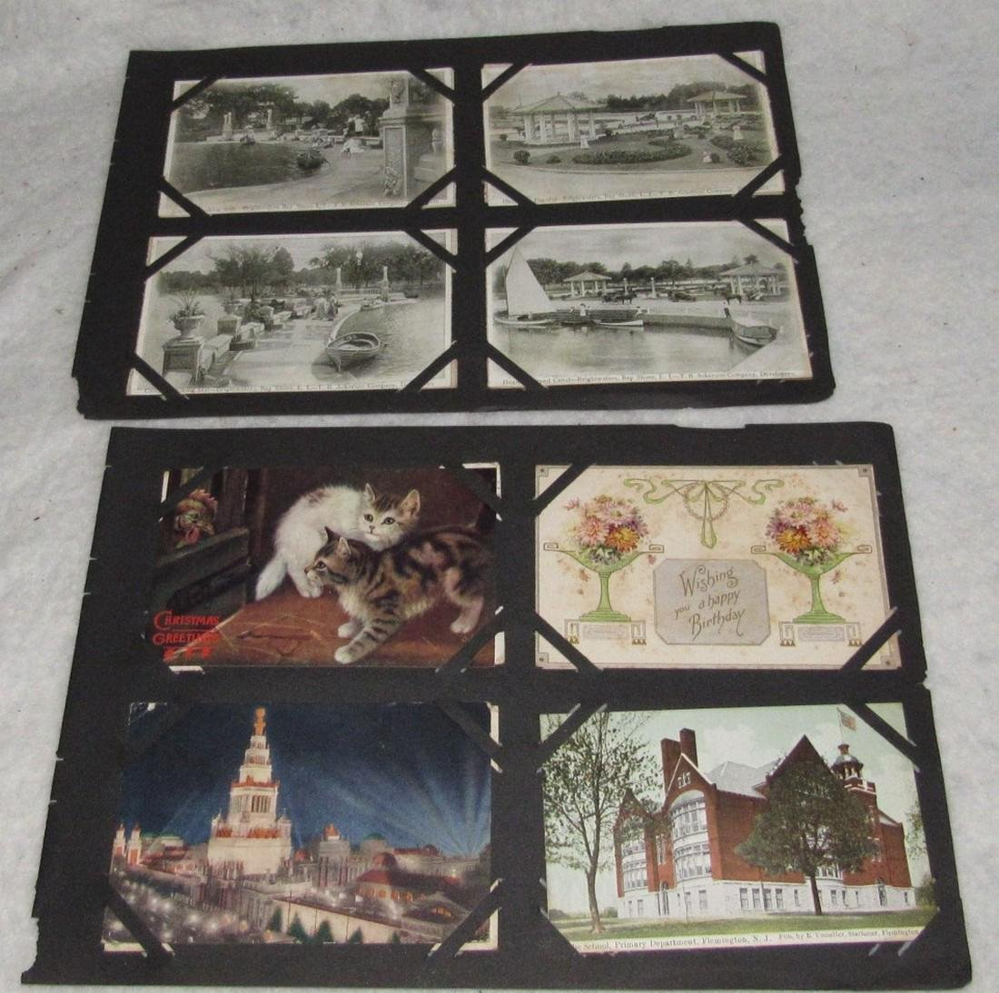 79 Antique Holiday Christmas Post Cards Easter - 6