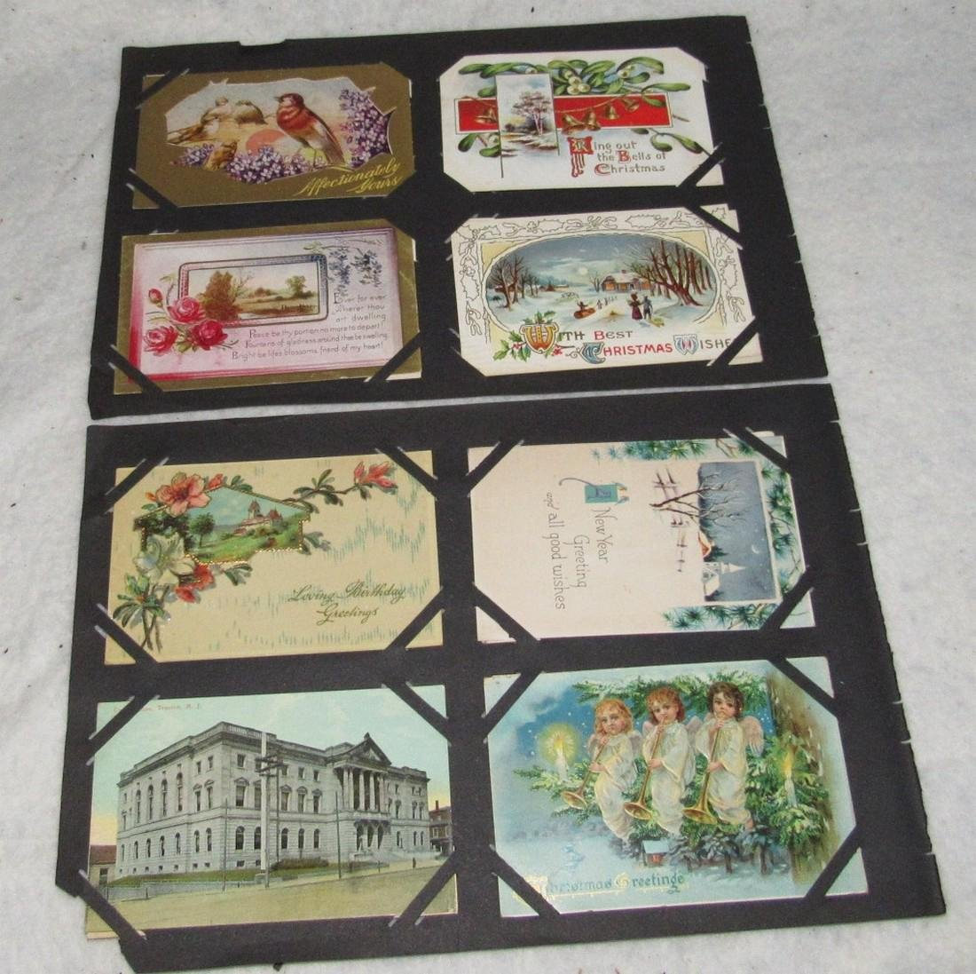79 Antique Holiday Christmas Post Cards Easter - 7