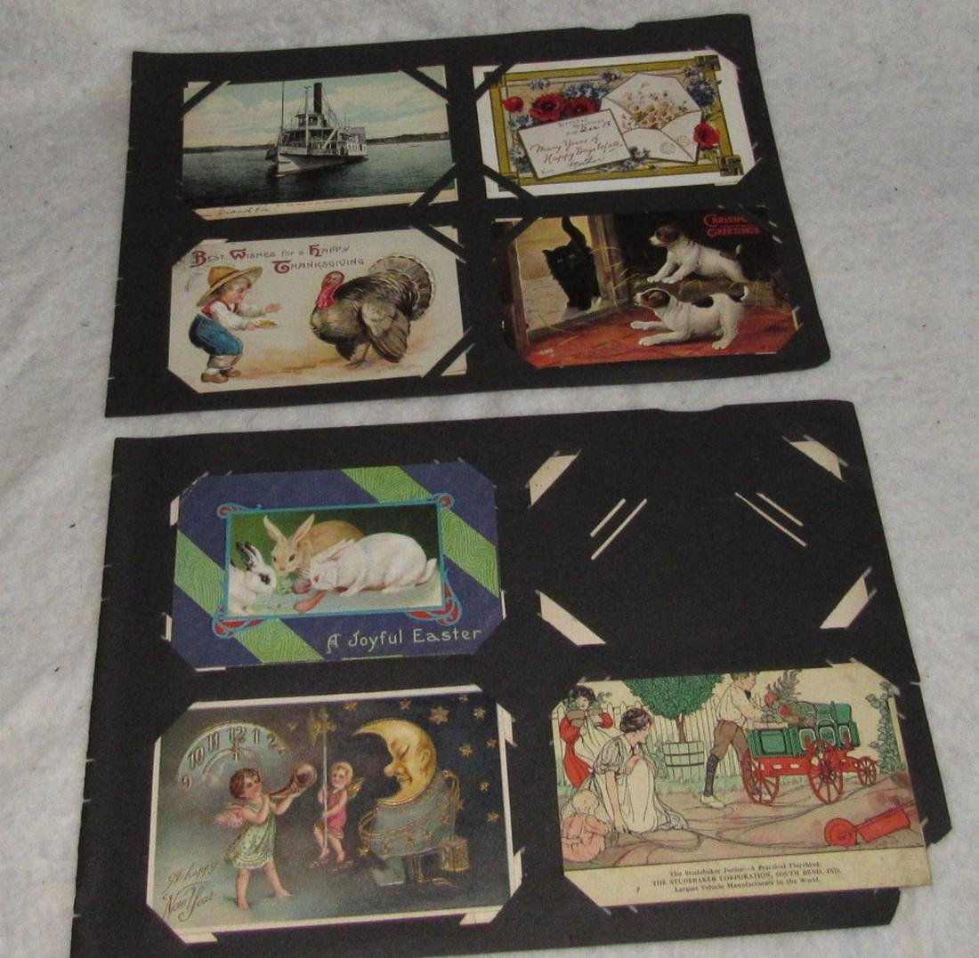 79 Antique Holiday Christmas Post Cards Easter - 8