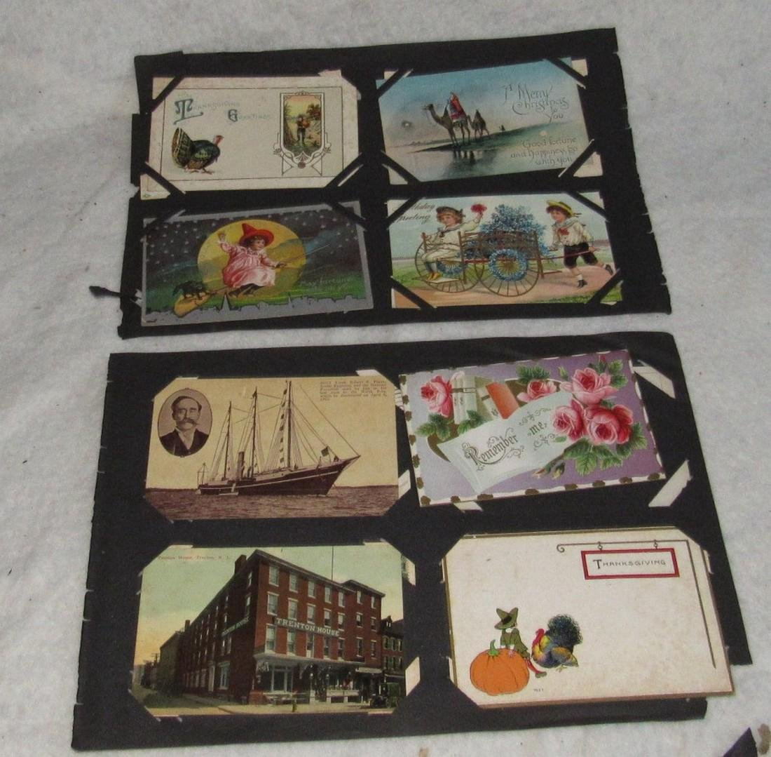 79 Antique Holiday Christmas Post Cards Easter - 9