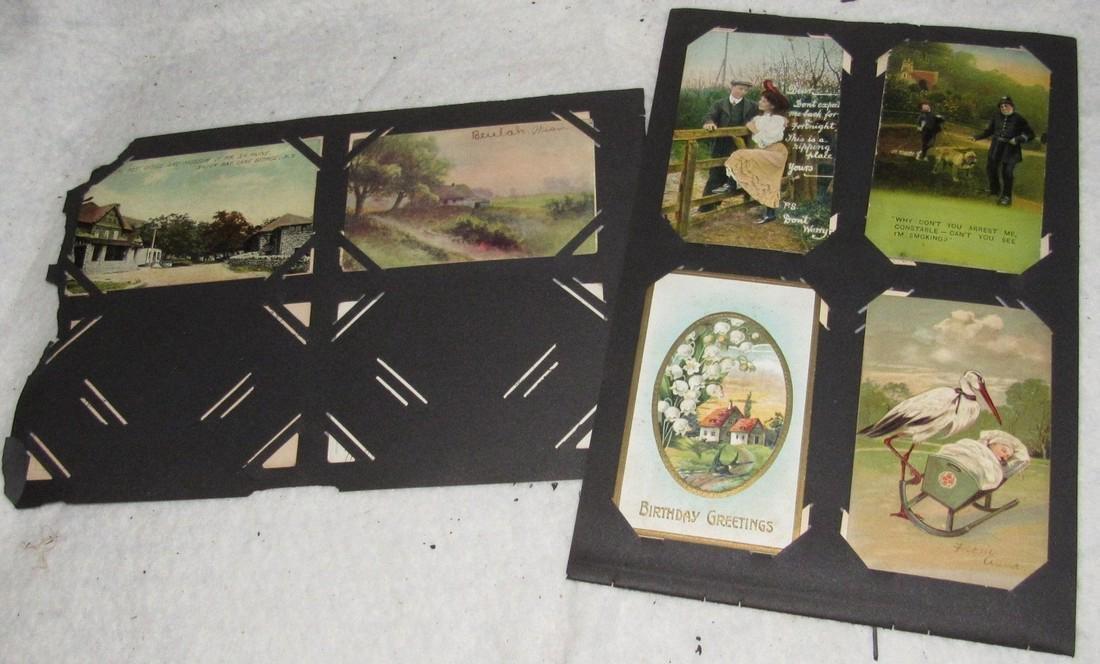 75 Antique Christmas Halloween Postcards - 10