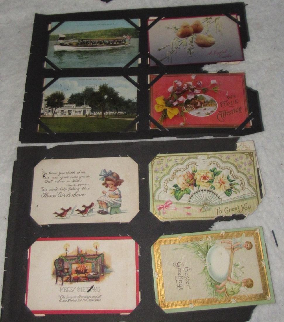 75 Antique Christmas Halloween Postcards