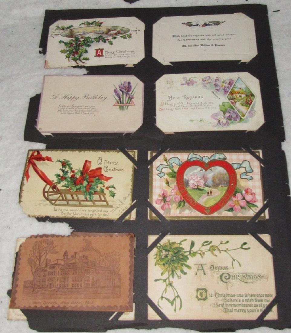 75 Antique Christmas Halloween Postcards - 2