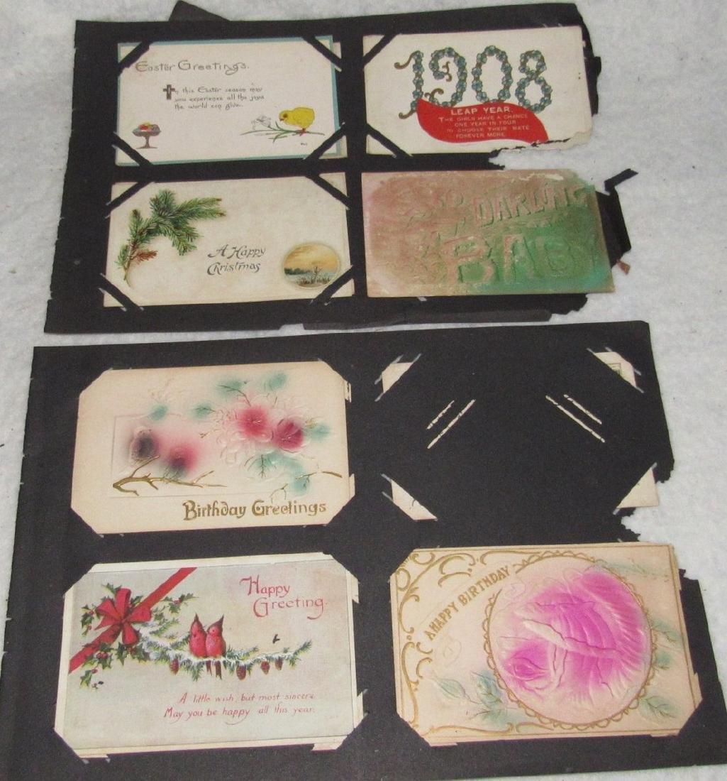 75 Antique Christmas Halloween Postcards - 3