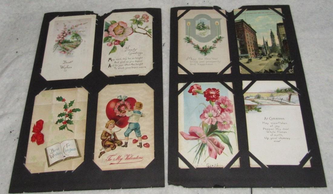 75 Antique Christmas Halloween Postcards - 5