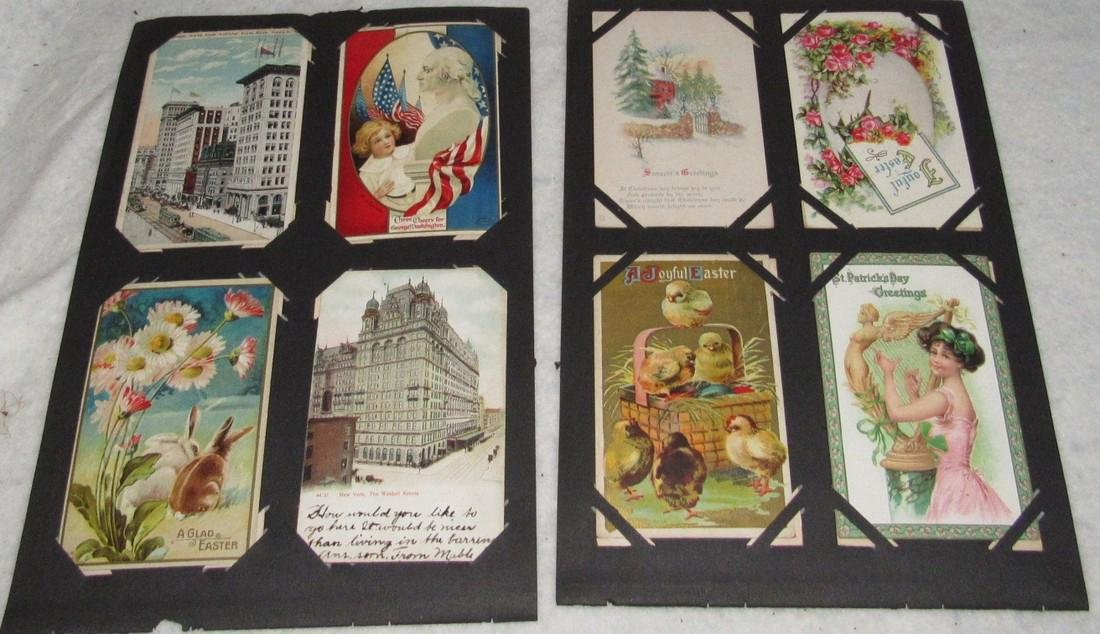 75 Antique Christmas Halloween Postcards - 8