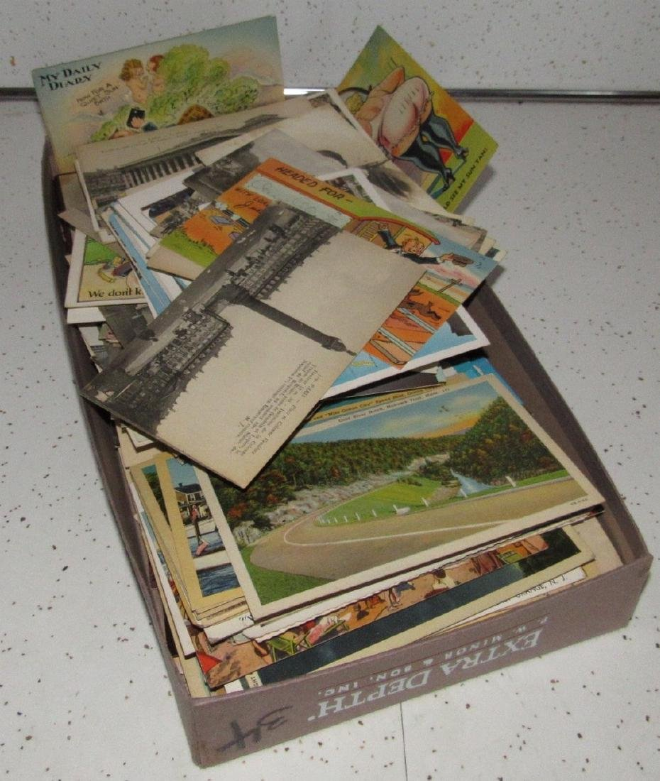 Large Lot of Misc Postcards