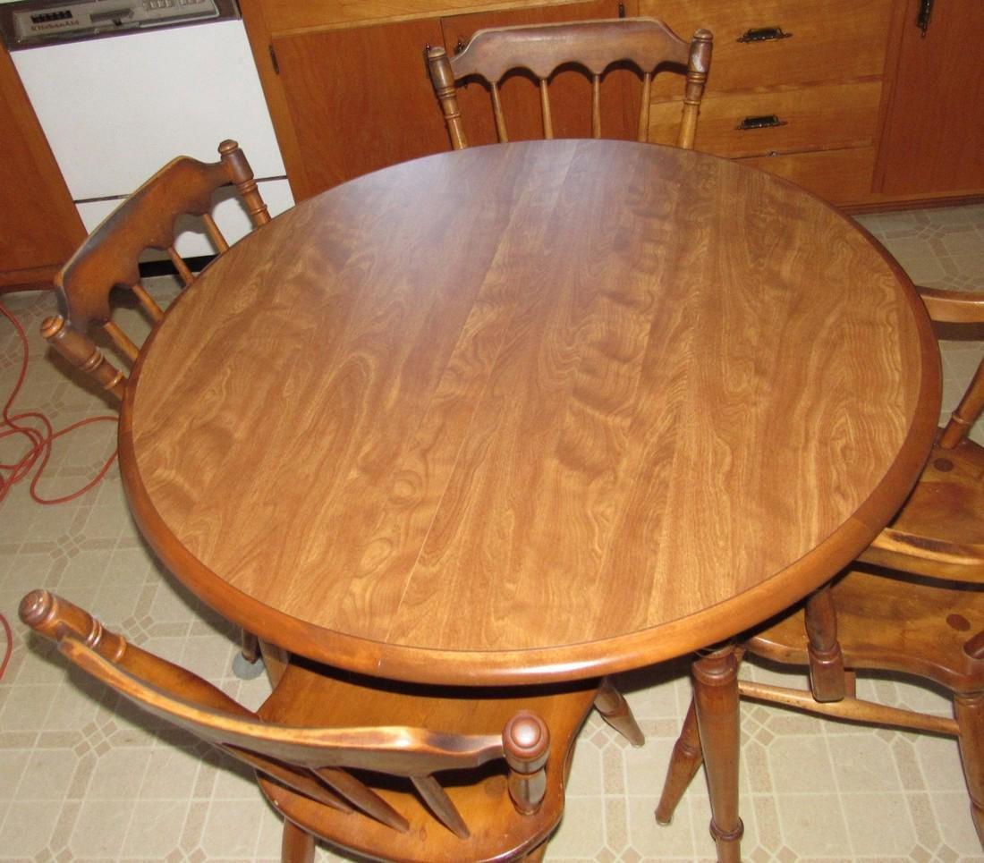 Cushman Classics Table & 4 Chairs - 2