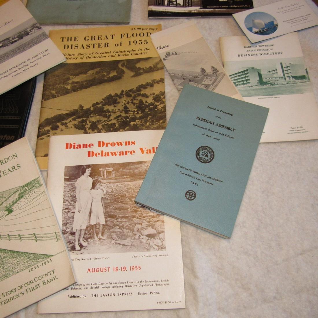 Local Books Catalogs Programs Certificate Lot - 4