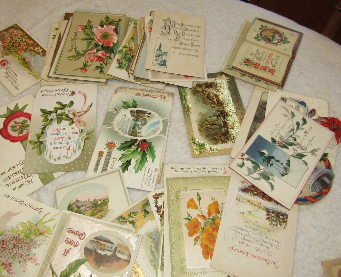 Large Lot of Christmas Postcards - 3
