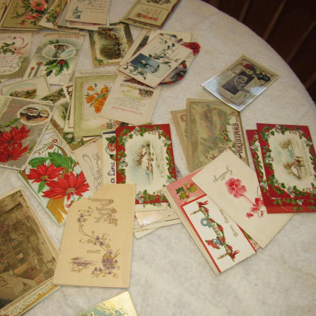 Large Lot of Christmas Postcards - 4