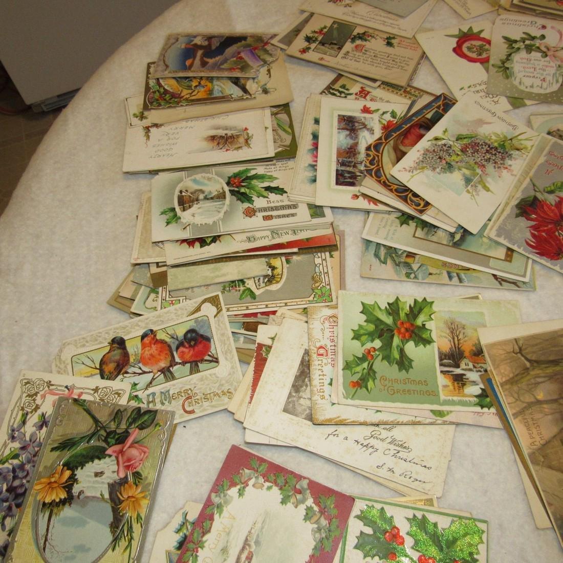 Large Lot of Christmas Postcards - 5