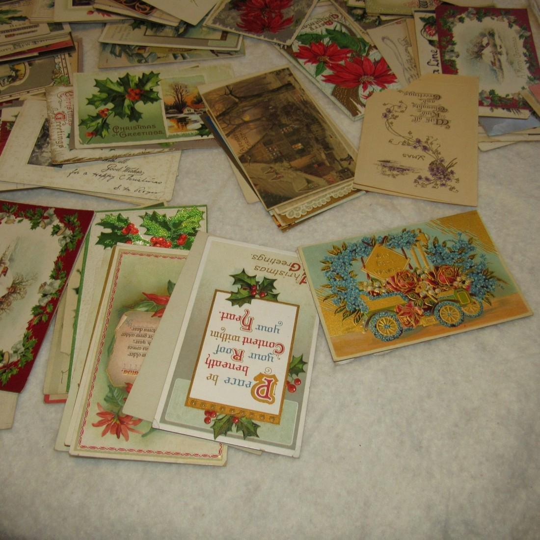 Large Lot of Christmas Postcards - 6
