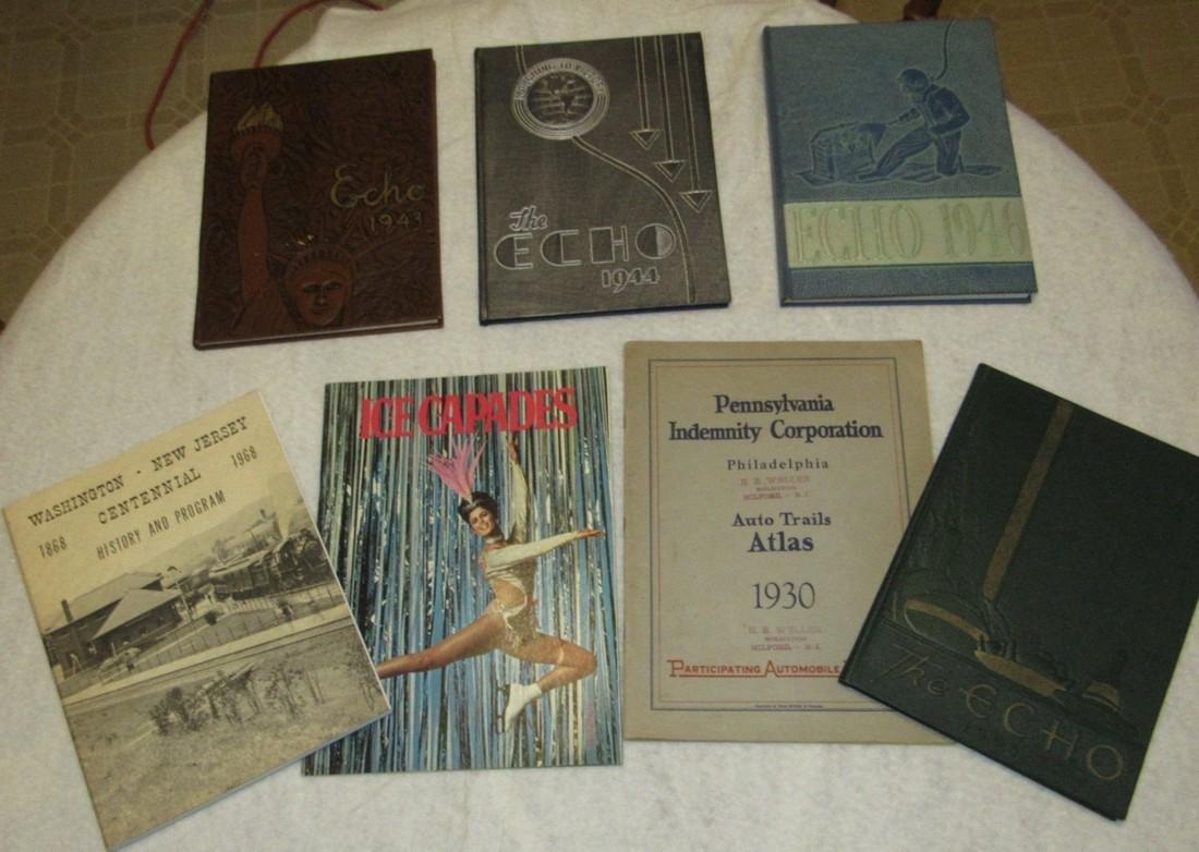 1940's Flemington NJ High School Yearbooks