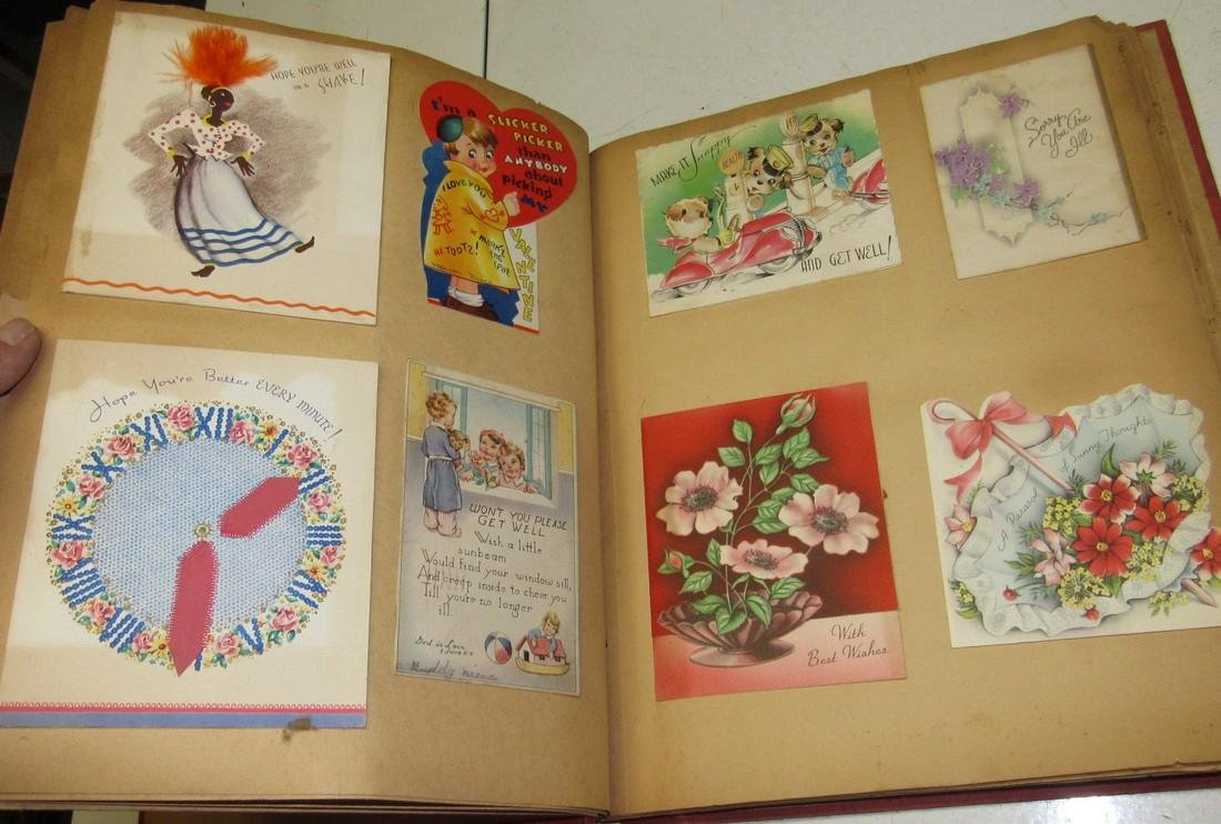 Scrap Book Filled with Cards - 5