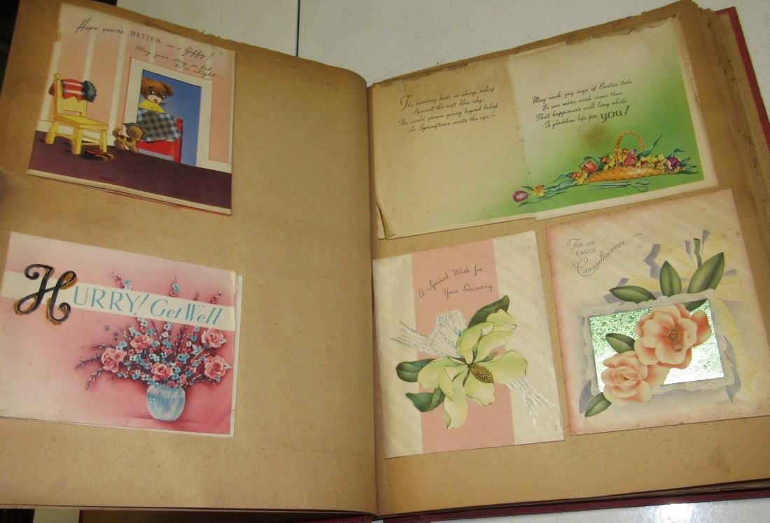 Scrap Book Filled with Cards - 6