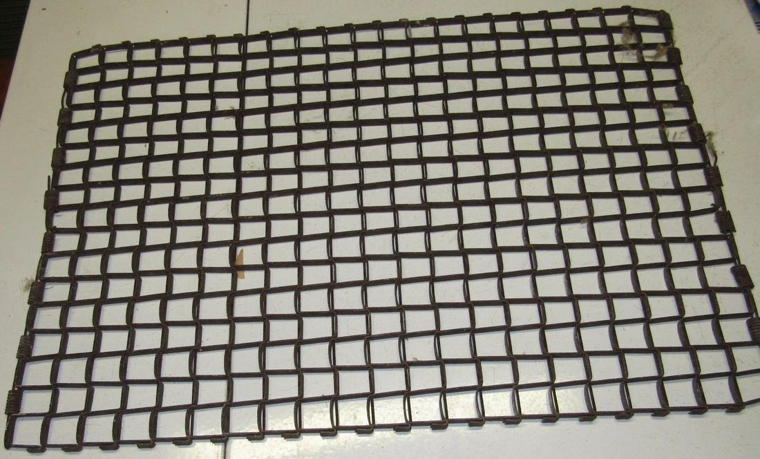 Primitive Steel Folding Door Mat