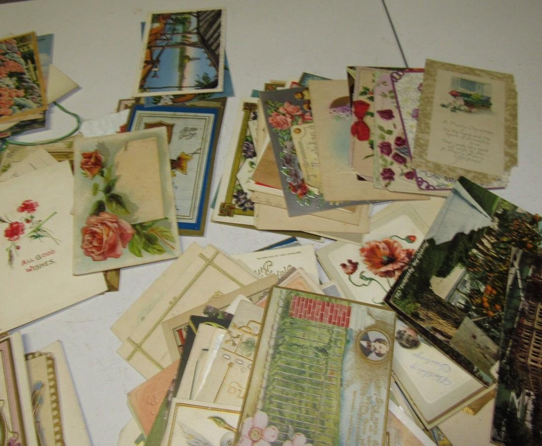 Large Lot of Antique Post Cards - 2
