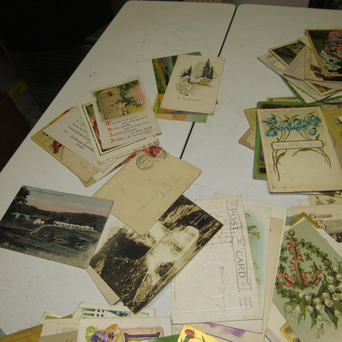 Large Lot of Antique Post Cards - 3