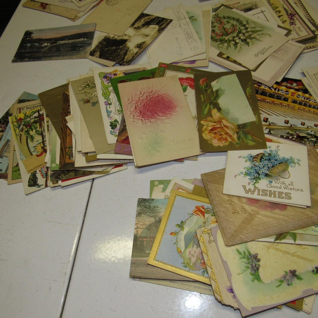 Large Lot of Antique Post Cards - 4