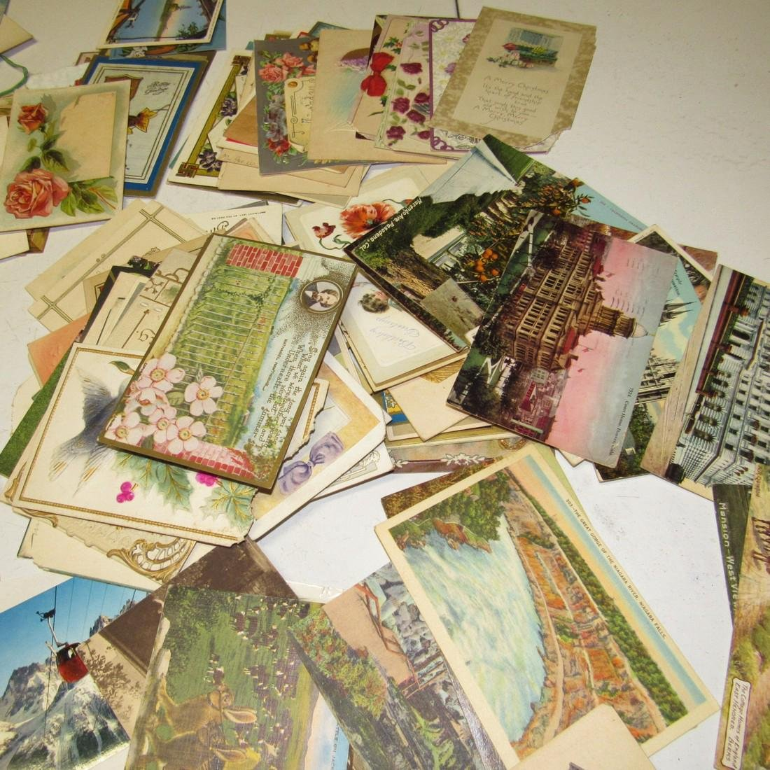 Large Lot of Antique Post Cards - 6
