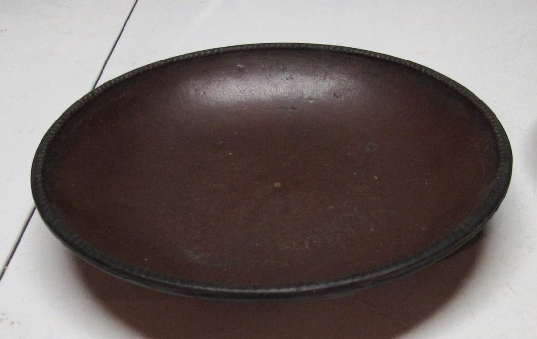 "2 Antique 11"" Pie Plate Push Up Bottom - 2"