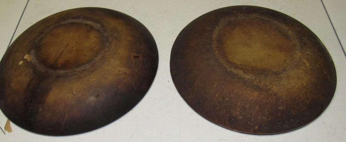 "2 Antique 11"" Pie Plate Push Up Bottom - 5"