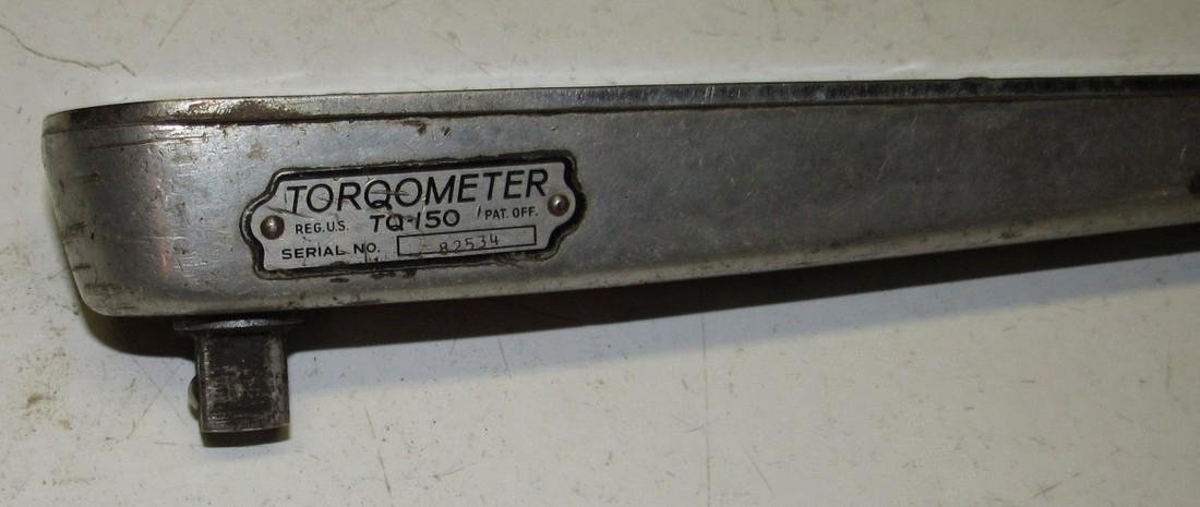 Snap-On Torqometer TQ 150 Torq Wrench - 2