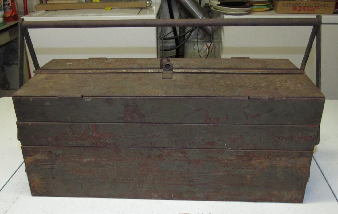 Vintage Snap On Tool Box w/ Tools